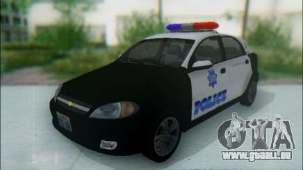 Chevrolet Lacetti Police pour GTA San Andreas