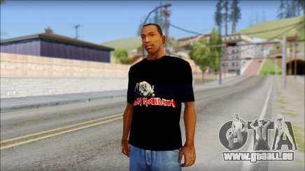 Iron Maiden T-Shirt für GTA San Andreas