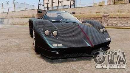 Pagani Zonda C12S Roadster 2001 v1.1 PJ3 pour GTA 4