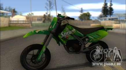 Sanchez from GTA V - Supermoto pour GTA San Andreas