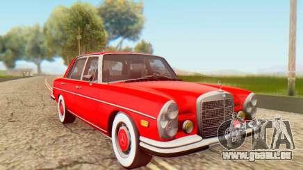 Mercedes-Benz 300SEL Stock 1972 pour GTA San Andreas