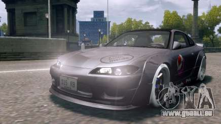 Nissan Silvia S15 Street Drift für GTA 4