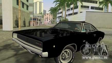 Dodge Charger RT 426 1968 für GTA Vice City