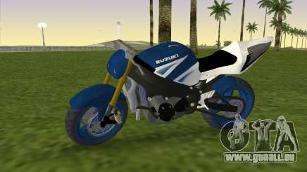 Suzuki GSX-R 1000 StreetFighter für GTA Vice City
