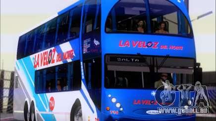 Metalsur Starbus DP 1 6x2 - La Veloz del Norte für GTA San Andreas