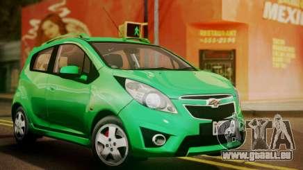 Chevrolet Spark 2011 für GTA San Andreas