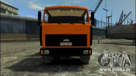MAZ-6317 für GTA 4