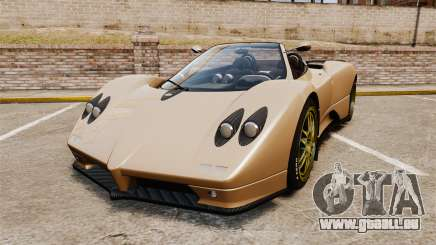 Pagani Zonda C12S Roadster 2001 v1.1 für GTA 4