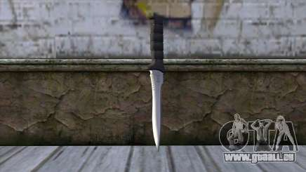 Knife from Resident Evil 6 v2 für GTA San Andreas