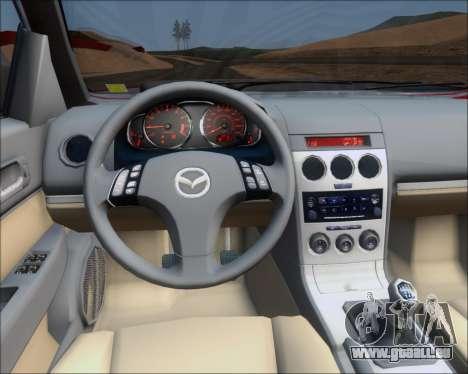 Mazda 323F 1995 pour GTA San Andreas vue de côté