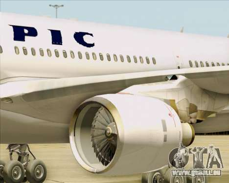 Airbus A330-300 Olympic Airlines pour GTA San Andreas vue de dessus