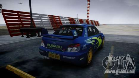 Subaru Impreza STI Group N Rally Edition für GTA 4 linke Ansicht