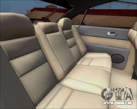Mazda 323F 1995 pour GTA San Andreas vue intérieure
