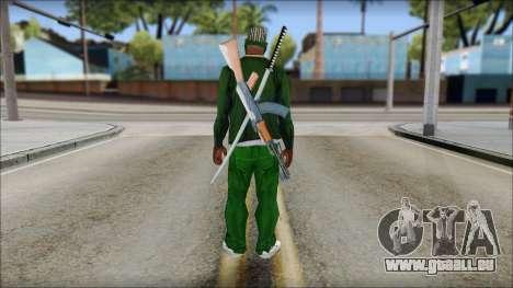 New CJ v5 pour GTA San Andreas deuxième écran