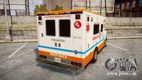 GTA V Brute Ambulance [ELS] für GTA 4 hinten links Ansicht