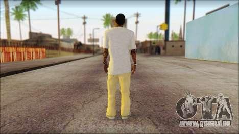 New Grove Street Family Skin v4 pour GTA San Andreas deuxième écran