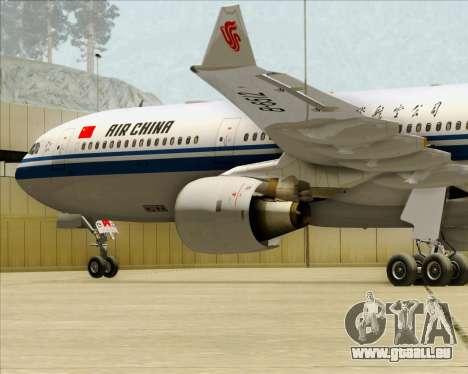 Airbus A330-300 Air China pour GTA San Andreas moteur