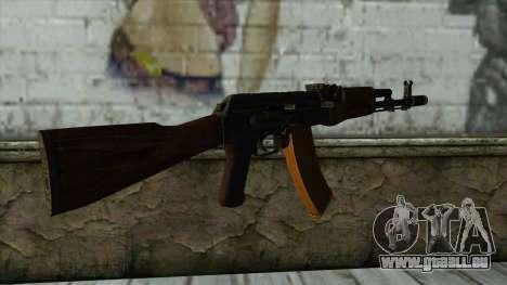 TheCrazyGamer AK74 für GTA San Andreas zweiten Screenshot