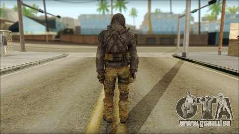 Latino Resurrection Skin from COD 5 für GTA San Andreas zweiten Screenshot