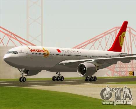 Airbus A330-200 Air China pour GTA San Andreas laissé vue