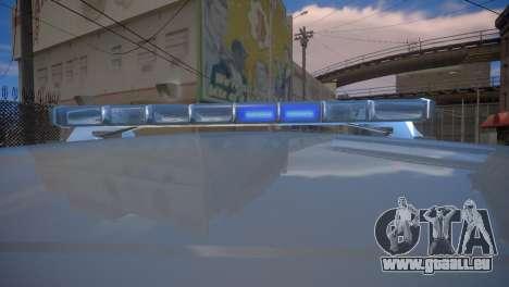 Mercedes-Benz GL450 AMG Police Interceptor 2013 pour GTA 4 Vue arrière