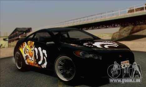 Maibatsu Penumbra 1.0 (IVF) für GTA San Andreas Innen