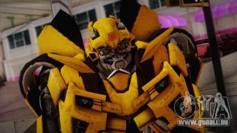 Bumblebee TF2 pour GTA San Andreas troisième écran