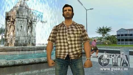 Kockas polo - koszos T-Shirt GTA Vice City pour la deuxième capture d'écran