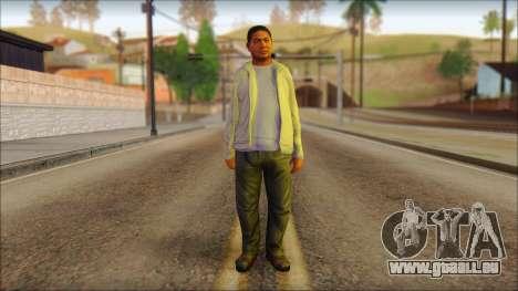 GTA 5 Ped 10 pour GTA San Andreas