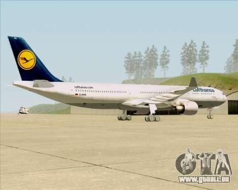 Airbus A330-300 Lufthansa für GTA San Andreas rechten Ansicht