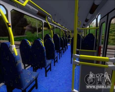 Neobus Spectrum Linea 38 Mcal. Lopez pour GTA San Andreas vue de dessous