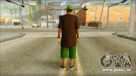 New Grove Street Family Skin v3 für GTA San Andreas zweiten Screenshot
