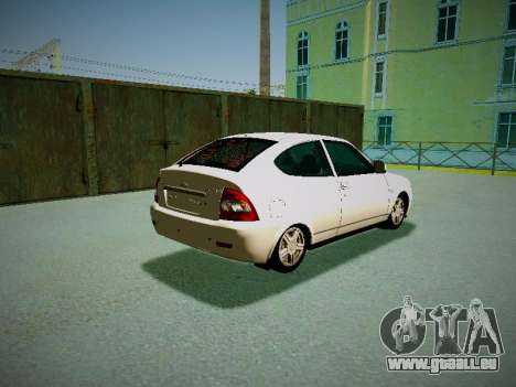 Lada Priora Coupe pour GTA San Andreas vue de droite