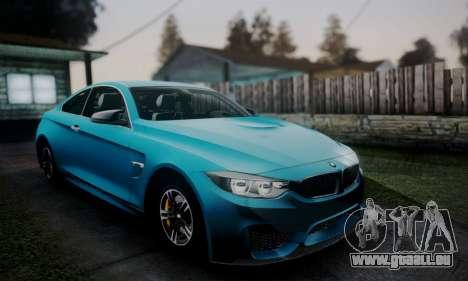 BMW M4 2014 für GTA San Andreas