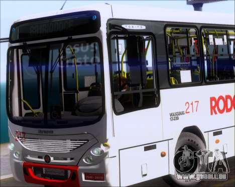 Marcopolo Torino G7 2007 - Volksbus 17-230 EOD pour GTA San Andreas salon