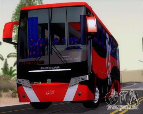 Busscar Elegance 360 C.R.F Flamengo pour GTA San Andreas vue arrière