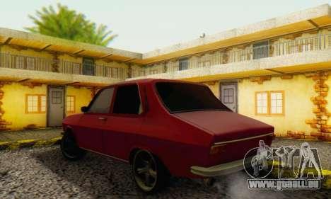 Dacia 1300 Stock 1979 pour GTA San Andreas vue de droite