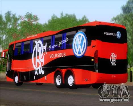 Busscar Elegance 360 C.R.F Flamengo pour GTA San Andreas vue de droite