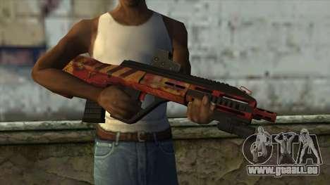 AUG A3 from PointBlank v4 pour GTA San Andreas troisième écran