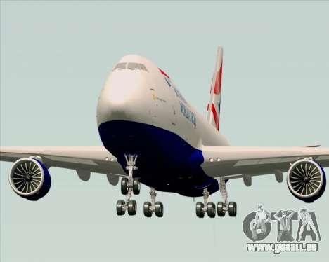 Boeing 747-8 Cargo British Airways World Cargo für GTA San Andreas rechten Ansicht