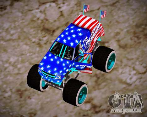 Liberator Online Version (American Flag) pour GTA San Andreas