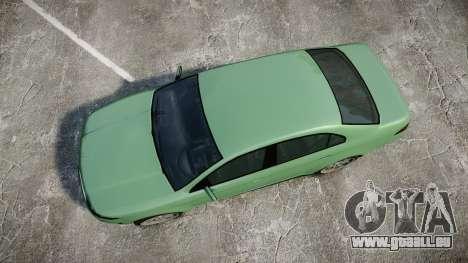 GTA V Vapid Taurus für GTA 4 rechte Ansicht