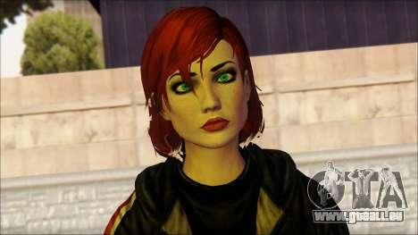 Mass Effect Anna Skin v10 für GTA San Andreas dritten Screenshot
