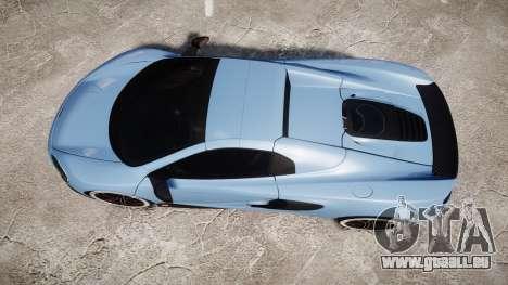 McLaren 650S Spider 2014 [EPM] Michelin v3 pour GTA 4 est un droit