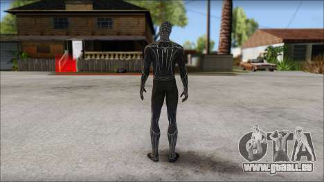 Standart Black Spider Man für GTA San Andreas zweiten Screenshot