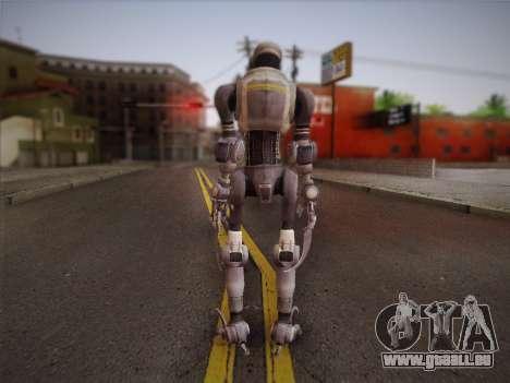 Mouser Human pour GTA San Andreas deuxième écran
