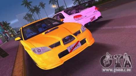 Subaru Impreza WRX STI 2006 Type 4 für GTA Vice City