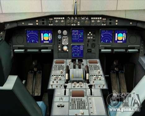 Airbus A340-313 Gulf Air pour GTA San Andreas salon