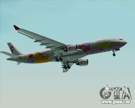Airbus A330-300 Dragonair (20th Year Livery) pour GTA San Andreas vue de dessus