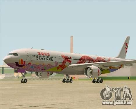 Airbus A330-300 Dragonair (20th Year Livery) pour GTA San Andreas laissé vue